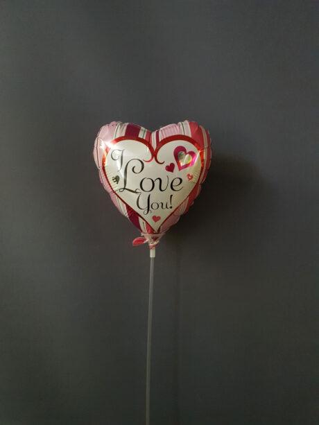 Ροζ καρδιά love - €4.00