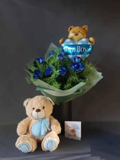 Μπλε μπαλόνι - 56
